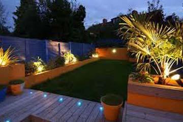 outdoor and garden lighting